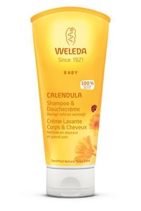 Calendula: Baby Shampoo & Douchecrème   Weleda