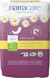 Natracare - Maandverband Normaal / Regular Pads Maxi