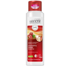 Lavera - Colour & Shine Shampoo: Organic Cranberry & Organic Avocado