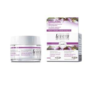 Lavera - Firming Night Cream: Karanja Oil & Organic White Tea