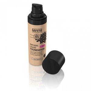 Lavera - Natural Liquid Foundation: Ivory Light 01