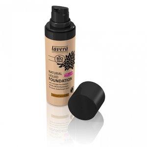 Lavera - Natural Liquid Foundation: Almond Caramel 06