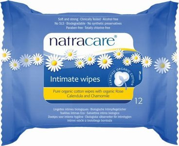 Natracare - Intimate Wipes Hygiënische Doekjes