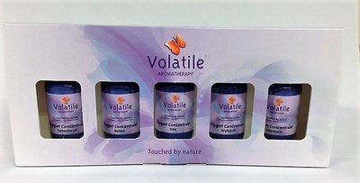 Cadeauset van 5 Aromatherapie Opgietsauna