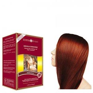 Henna Haarkleuring: Powder Burgundy