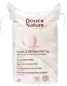 Douce Nature - Wattenschijfjes Bio Katoen (ovaal)