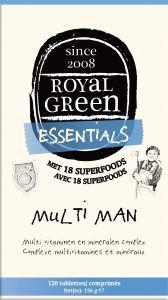Royal Green - Multi Man 120 tabletten