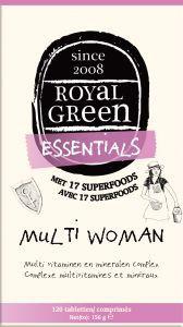 Royal Green - Multi Woman 120 tabletten