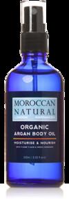 Moroccan Natural - Organic Argan Body Oil 10 ml
