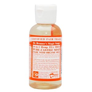 Dr. Bronner's - Magic Pure Castile Soap: Tea Tree 59 ml, 240 ml, 475 ml of 945 ml Vanaf: