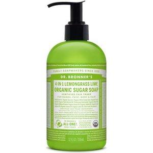 Dr. Bronner's - Shikakai Hand & Body Soap: Lemongrass -Lime 355 ml