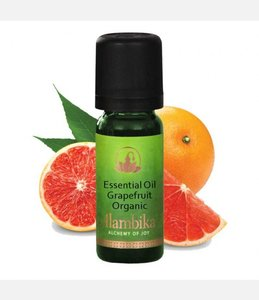 Biologische pink grapefruit etherische olie
