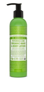 Dr. Bronner's - Hand & Bodylotion: Patchouli & Lime