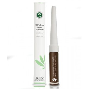 PHB Ethical Beauty - Natural Organic Liquid Eyeliner Brown