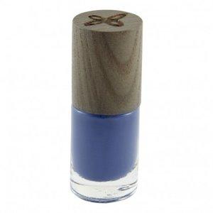 Street style, mooie blauwe nagellak