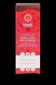 Hair Colour: Henna Amla & Jatropha