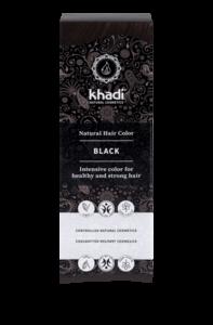 Hair Colour: Black | Khadi