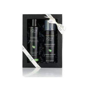 Joik - Men Gift Box: Cleansing Foam & Shower Oil