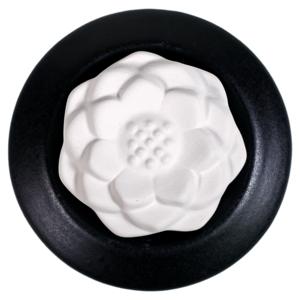 Aroma Geursteen: Lotus - Zwart