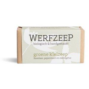 Groene Klei Zeep | Werfzeep