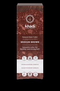 Medium Brown | Plantaardige haarkleuring