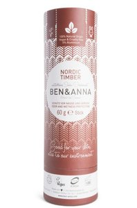 Ben & Anna - Natuurlijke Deodorant Push Up: Nordic Timber