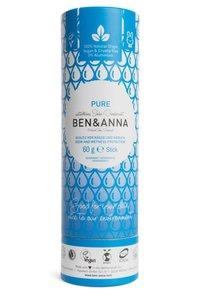 Pure deodorant, paper tube