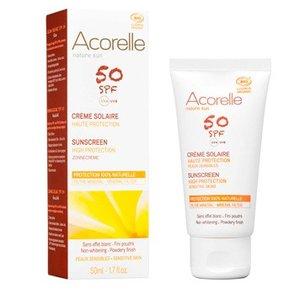 Acorelle - Sunscreen Face SPF 50