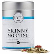 Biologische losse detox thee voor de ochtend